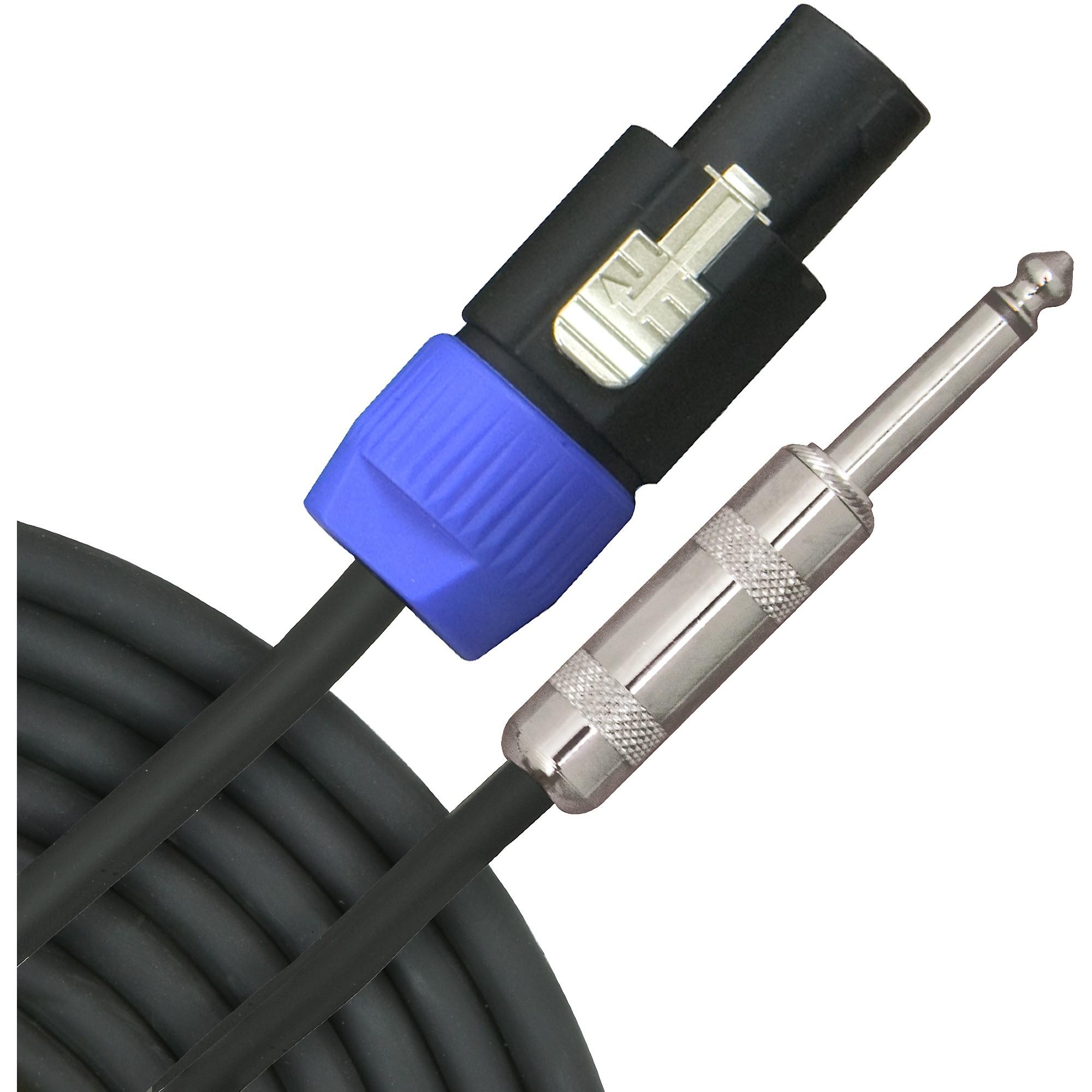 "Livewire Elite 12-Gauge Speakon to 1/4"" 2-Pole Speaker Cable"