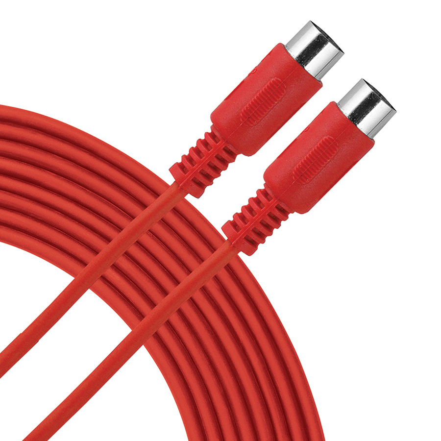 Livewire Essential Red MIDI Cable